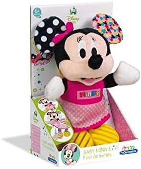 Clementoni- Disney Peluche con Sonidos Baby Minnie, Multicolor, Miscelanea (17164.4)