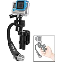 Fantaseal Action Camera 3-Axis Inertia Gyro Stabilizer w/ Remote Control Holder Clip for GoPro Grip Handle GoPro Stabilizer GoPro Gimbal for GoPro Hero 6 5 4 3 / Session / 3+/3-BK
