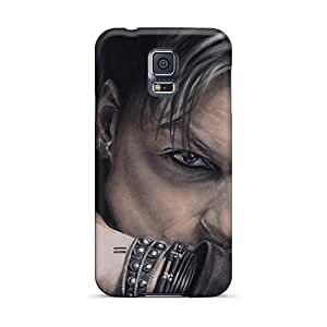 Excellent Cell-phone Hard Cover For Samsung Galaxy S5 With Support Your Personal Customized Lifelike Lacrimosa Band Skin ChristopherWalsh