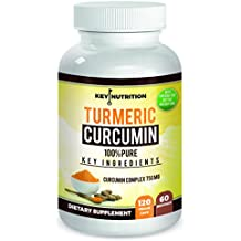 Turmeric Curcumin 1500mg with Black Pepper Extract & Nettle Leaf- 2 Month Supply-Maximum Pain Releif, 120 Capsules , High Absorption Formula with 95% Curcumunoids - Antioxidant, Anti inflammatory