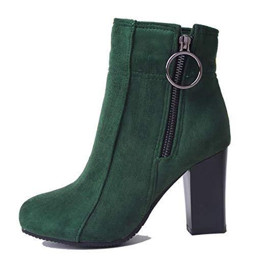 AiyoumeiClassic Green AiyoumeiClassic Velvet Boots Velvet Women's lT3F1KJc