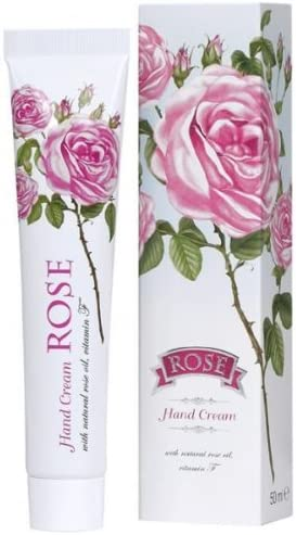 ROSE Hand Cream with natural rose oil