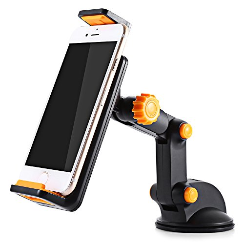 Excavator Design Universal Cell Phone Tablet Car Mount Holder Extendable and Adjustable Stand Design Excavator