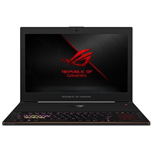 ASUS ROG Zephyrus GX501 Ultra Slim Gaming Laptop, 15.6″ FHD 144Hz 3ms IPS-Type G-SYNC, GeForce GTX 1080, Intel Core i7-8750H, 16GB DDR4, 512GB PCIe SSD, Win 10 Pro, GX501GI-XS74