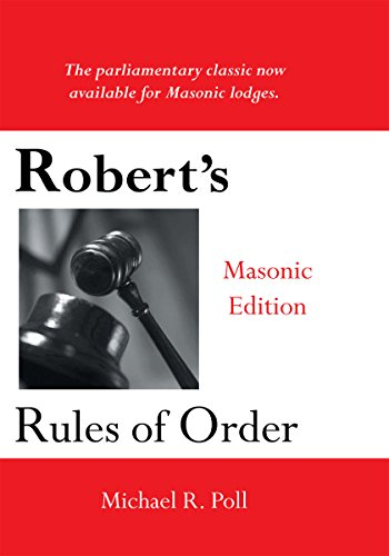 Roberts rules of order masonic edition kindle edition by michael roberts rules of order masonic edition by poll fandeluxe Gallery