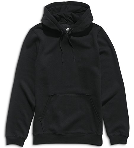 Mens Sweatshirt Etnies (Etnies Mens New Park Lock Up Hoody Pullover Sweatshirt Large Black)