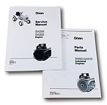 Amazon com: Case 448 Garden Tractor Onan B48M 18Hp Engine Service