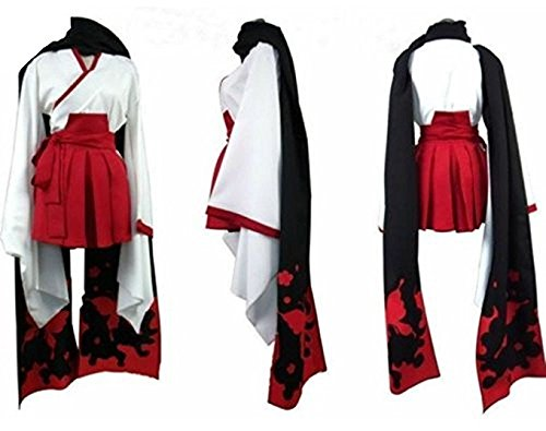 Best Make It Yourself Halloween Costumes (LYLAS Cosplay Costume Printing Kimono With Scarf Full Set (Female-S))