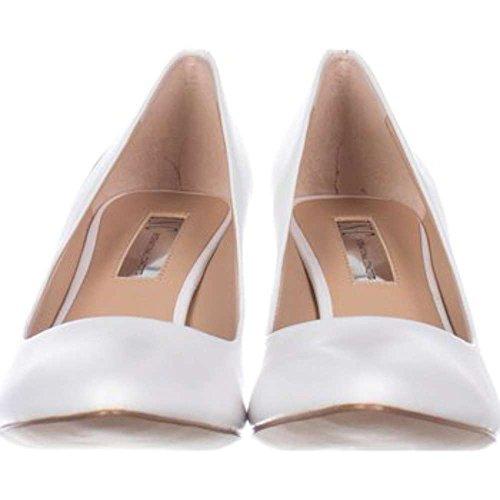 Inc International Concepts Mujeres's Zitah Pointed Toe, Blanco Brillante, Tamaño 7.0