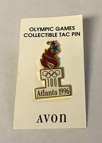 1996 Atlanta Olympics Avon Torch 100 Pin