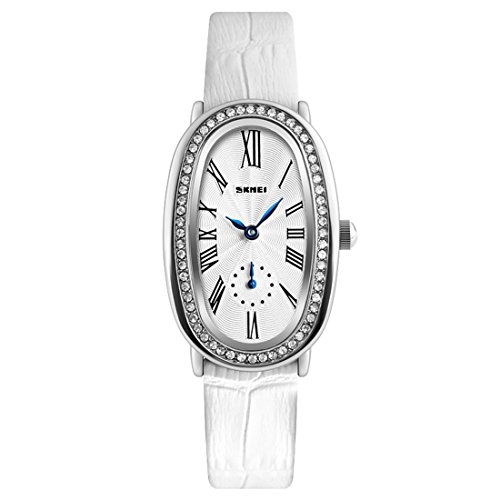 Oval Black Face Watch - 5