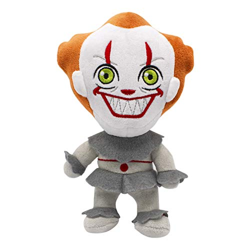 Warner Bros IT Pennywise Plush Toy for Dogs, Small | Soft & Squeaky Plush Dog Toy | Cute and Soft Fabric Dog Toys with…