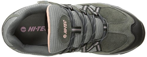 Hi-tec Mujeres Florence Low Impermeable Multideporte Calzado Carbón / Blush