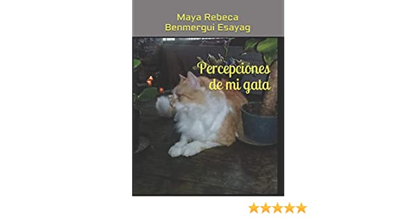 Amazon.com: Percepciones de mi gata (Spanish Edition) (9781719882477): Maya Rebeca Benmergui Esayag: Books