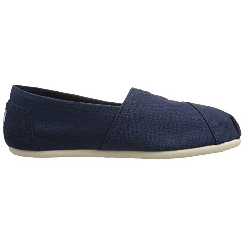 TOMS Women's Classics Slipper Navy Canvas 8.5 B - -