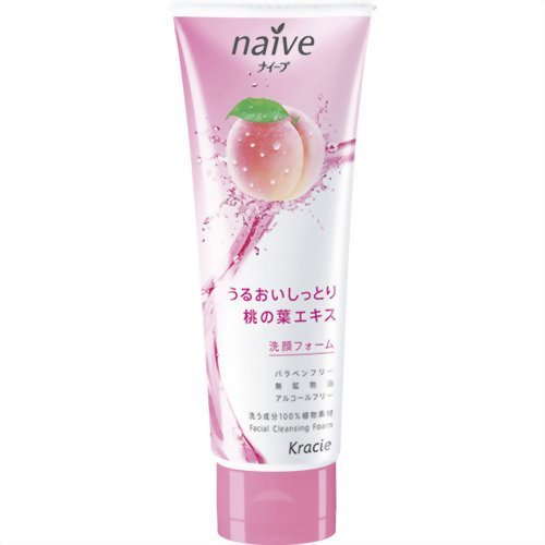 ナイーブ 洗顔フォーム (桃の葉エキス配合) 110g B001U087BI  110g