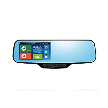 Zesfor Retrovisor Android: localizador GPS + navi + Bluetooth + cámara: Amazon.es: Coche y moto