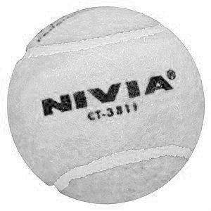 Nivia Heavy White Cricket Tennis Ball
