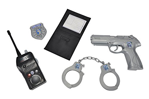 Simba 108102669 - Polizei Grundausstattung, Spielzeug