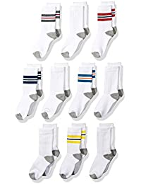 Boys Cotton Crew Gym Socks