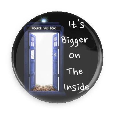 Amazon.com: Doctor Who grande en el interior 3.0 inch Imán ...
