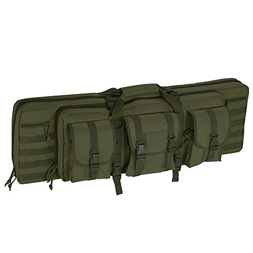 "AW 36"" Tactical Dual Rifle Gun Bag Case Carbine Soft Case Pa"