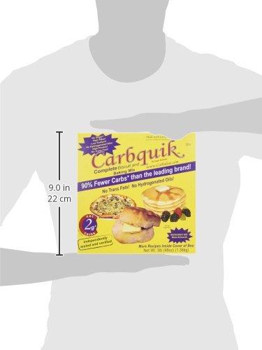Carbquik Baking Mix, 3 lb (48 oz) 3