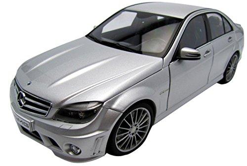 AUTOart 1/18 メルセデス ベンツ C63 AMG (シルバー) 完成品 B00323OPO4