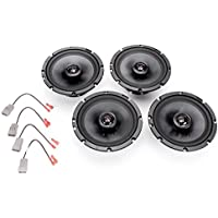 2003-2004 Honda Element Complete Premium Factory Replacement Speaker Package by Skar Audio