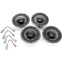 2003-2004 Honda Element Complete Premium Factory Replacement Speaker Package by Skar Audio