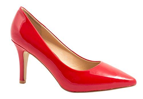 Elara - Cerrado Mujer Rojo - rojo
