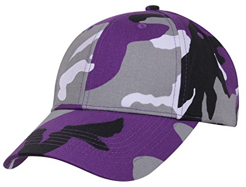 Ultraviolet Camo - Rothco Supreme Low Profile Cap, Ultra Violet Camo