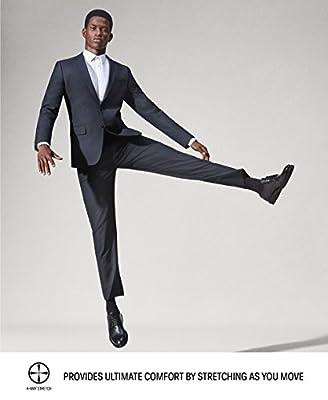 Calvin Klein Men's Slim Fit 5-Pocket Infinite Style Tech Suit Pant