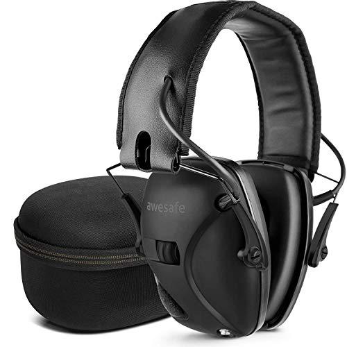 awesafe GF01+ Réduction du bruit Maximiser le son Sécurité électronique Casque antibruit, Protection de l'ouïe, Idéal… 1