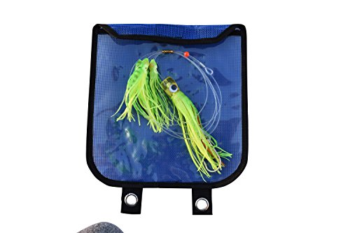 EAT MY TACKLE Offshore fishing lure green squid daisy chain