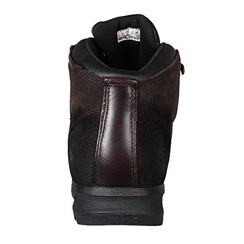 Hombre Scramble Brown Botas Scramble Mid Dark Leather FTP Cuero WP GT de GT Timberland fAq4Fq