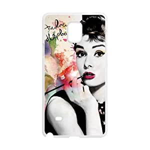 SANYISAN Audrey Hepburn Brand New And High Quality Hard Case Cover Protector For Samsung Galaxy Note4