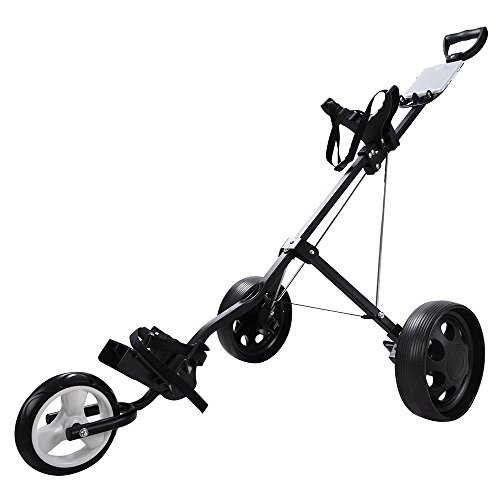 AW-Foldable-3-Wheel-Push-Pull-Golf-Cart-Trolley-6-Front-9-Rear-Wheel-w-Manual-Outdoor
