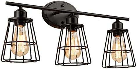 industrial lighting fixtures for bathrooms vanities