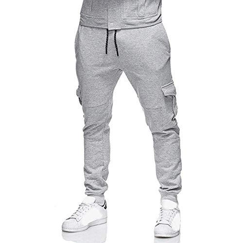 New Men Men's Casual Comfort Baggy Elastic Waist Pockets Jogging Running Sports Trousers Sweatpants Sportwear Slacks 2X