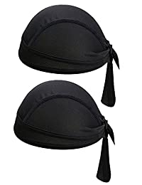 4346dff5bd7 SUNLAND Skull Cap Doo Rags Dew Rags Head Wraps Adjustable Beanie Head  Scarves Caps Quick Dry