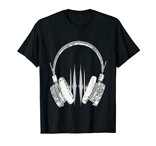 Headphone DJ Shirt-Party Tee Gift For DJS