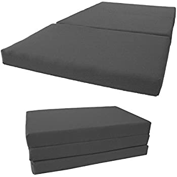 brand new twin size shikibuton tri fold foam beds 3 thick x 39 wide x 75 long 1. Black Bedroom Furniture Sets. Home Design Ideas