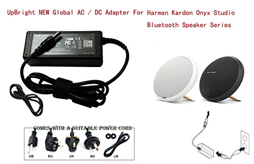 Price comparison product image UpBright 19V AC/DC Adapter For Harman Kardon Onyx Studio 4 3 2 1 IV III II I Bluetooth Wireless Portable Speaker System HK ESX2567Q ONYX3 2GP468 NSA40ED-190200 AU38AA-00 19VDC 2A-3.42A Power Supply