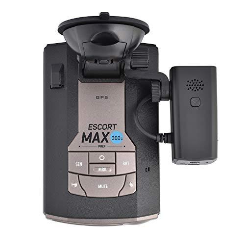Escort MAX360C Radar Detector & Escort M1 Dash Camera Bundle, HD Video, Long Range Protection, Bluetooth, Fewer False Alerts, All-in-One Protection