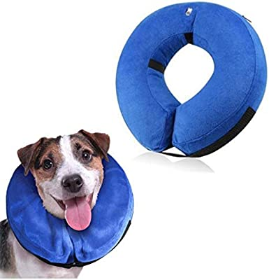 AMOYER Collar de Perro Inflable, Collares Perros, Collar Inflable ...