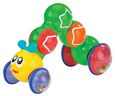 Kidoozie Press N Go Inchworm by International Playthings