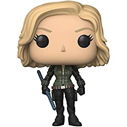 Funko Pop Marvel: Avengers Infinity War-Black Widow Collectible Figure, Multicolor
