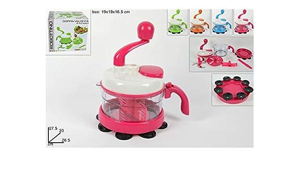 robottino Mini Robot manual de cocina 6 funciones Doble velocidad colores surtidos.TI: Amazon.es: Hogar