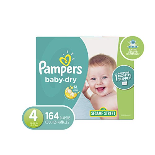 Pampers Diapers Size 4 (OLD)